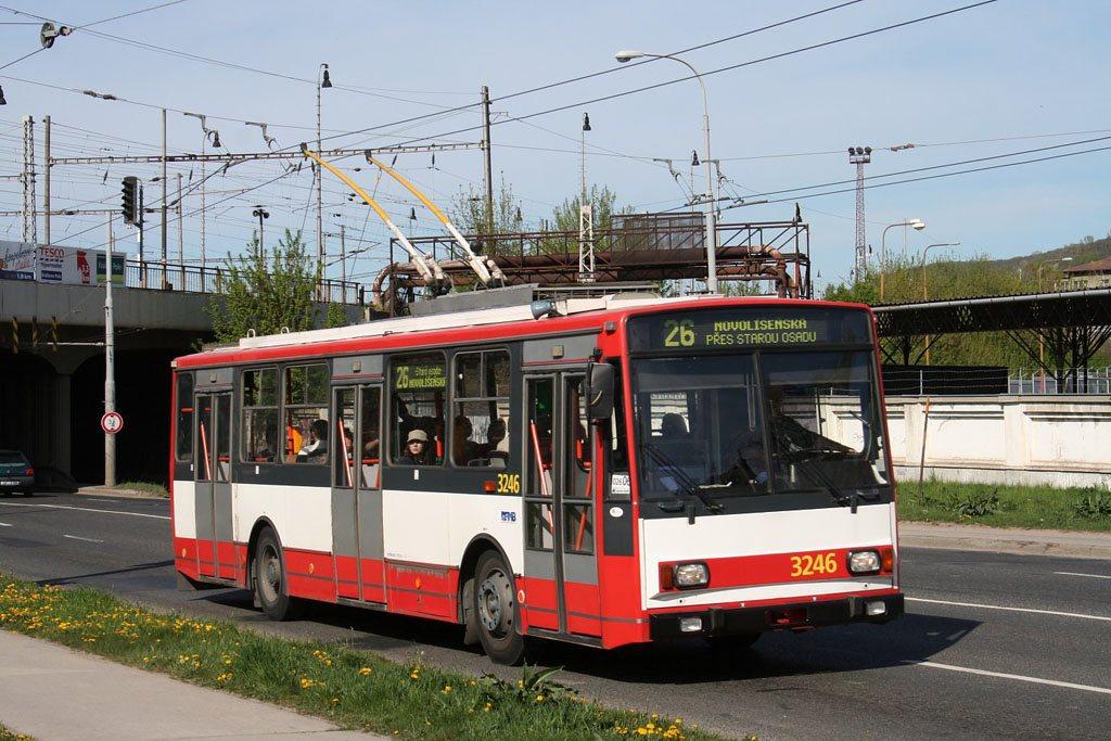 Fotogalerie » Škoda 14TrR 3246   Brno   Židenice   Svatoplukova