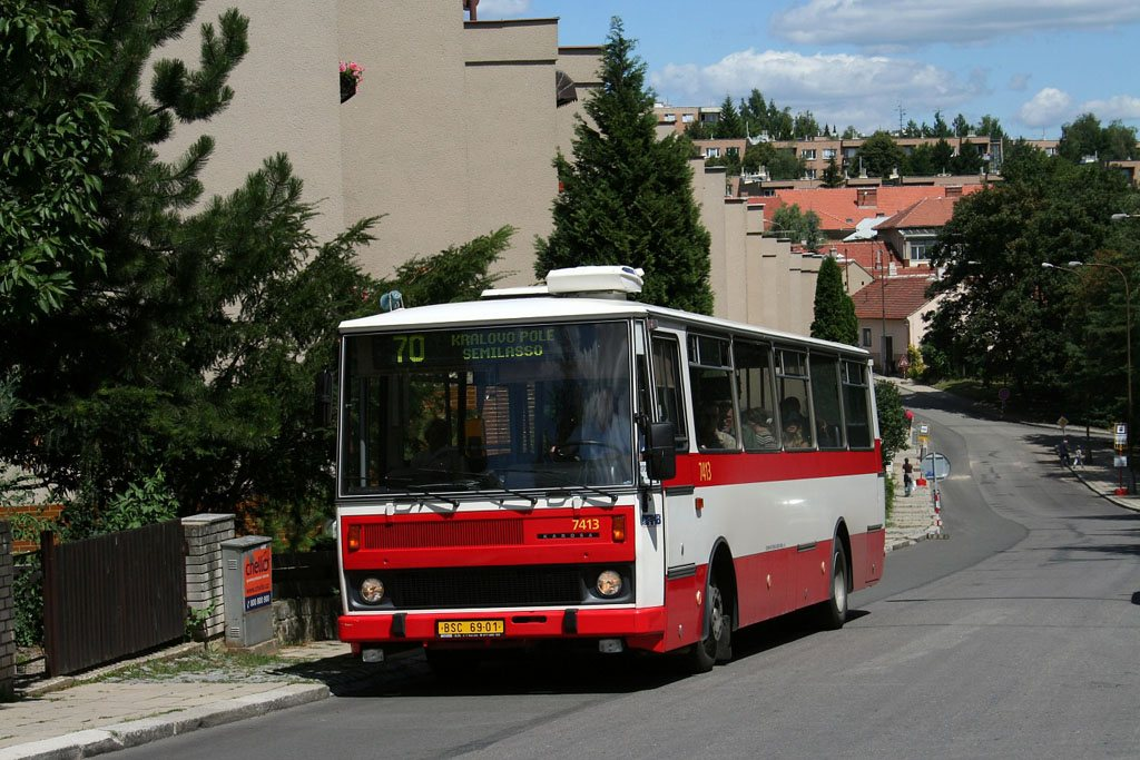 Fotogalerie » Karosa B731.1669 7413 | Brno | Řečkovice | Marie Hübnerové