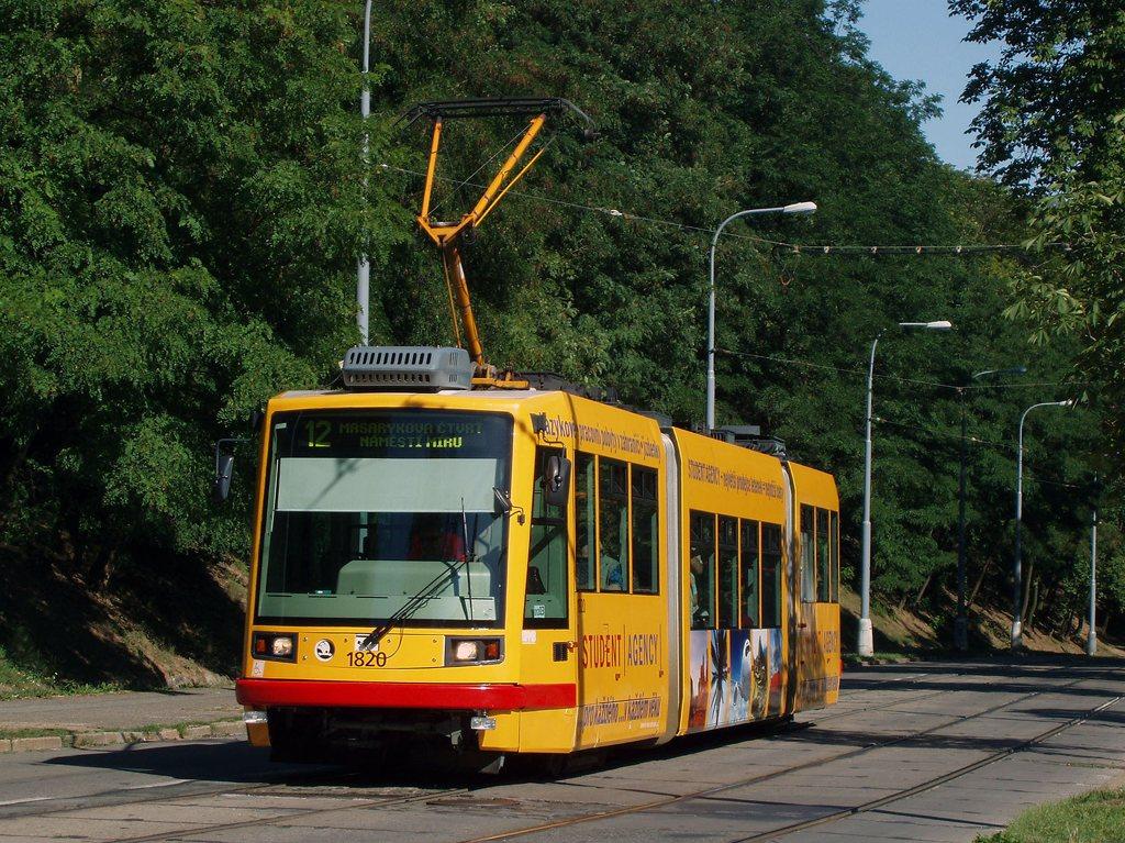Fotogalerie » Škoda 03T7 1820 | Brno | Veveří | Údolní