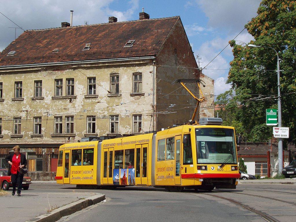 Fotogalerie » Škoda 03T7 1820 | Brno | Zábrdovice | Cejl