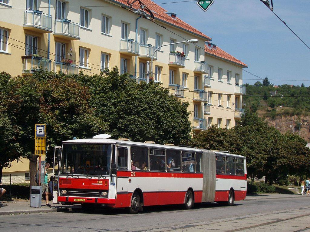 Fotogalerie » Karosa B741.1924 2319 | Brno | Královo Pole | Kosmova | Semilasso
