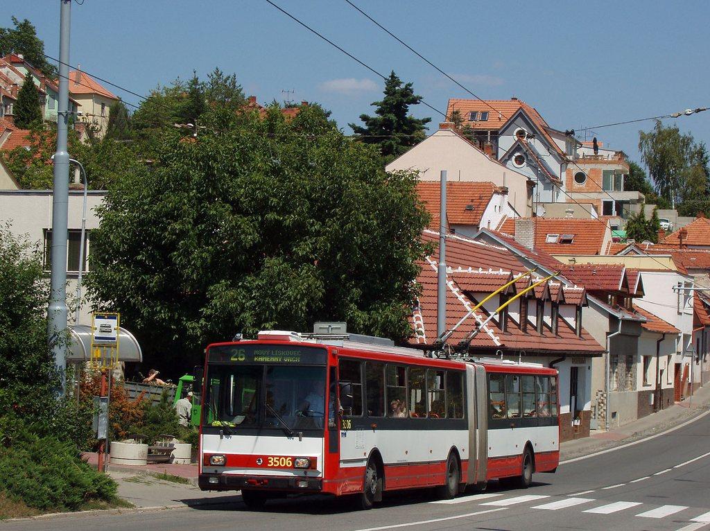 Fotogalerie » Škoda 15TrM 3506 | Brno | Nový Lískovec | Rybnická | Kluchova