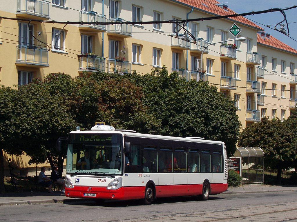 Fotogalerie » Irisbus Citelis 12M 7648 | Brno | Královo Pole | Kosmova | Semilasso