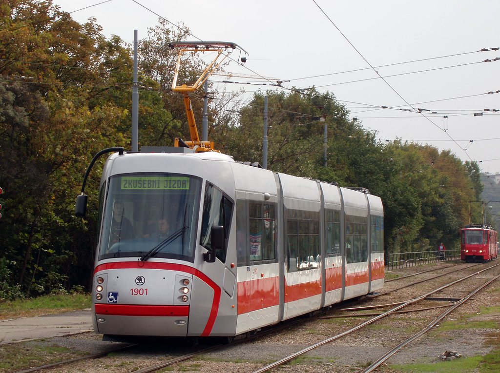 Fotogalerie » Škoda 13T0 1901   Brno   Žabovřesky   Kníničská