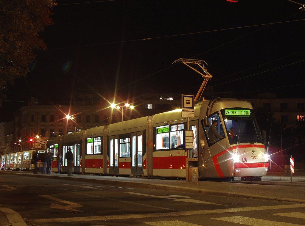 Fotogalerie » Škoda 13T0 1901 | Brno | střed | Moravské náměstí | Moravské náměstí