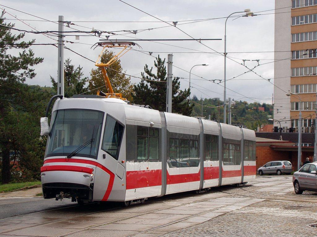 Fotogalerie » Škoda 13T0 1901   Brno   vozovna Medlánky
