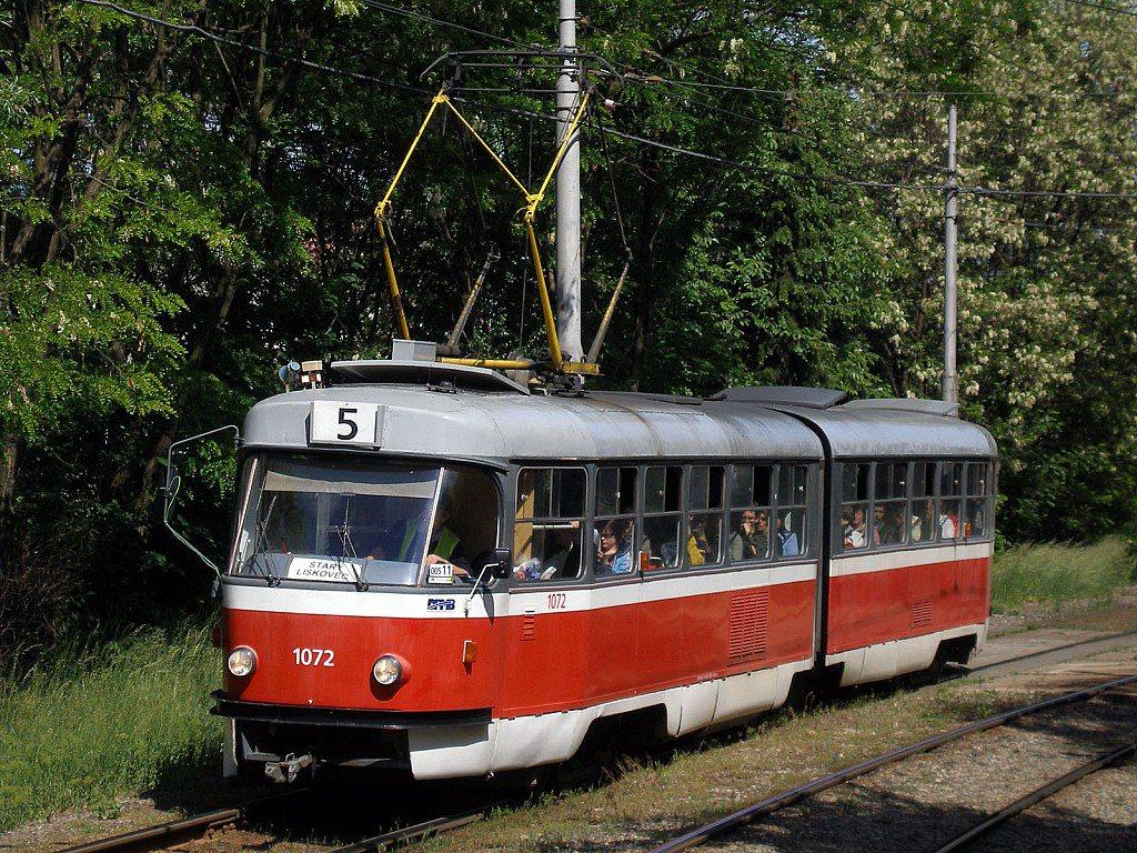 Fotogalerie » ČKD Tatra K2 1072 | Brno | Bohunice
