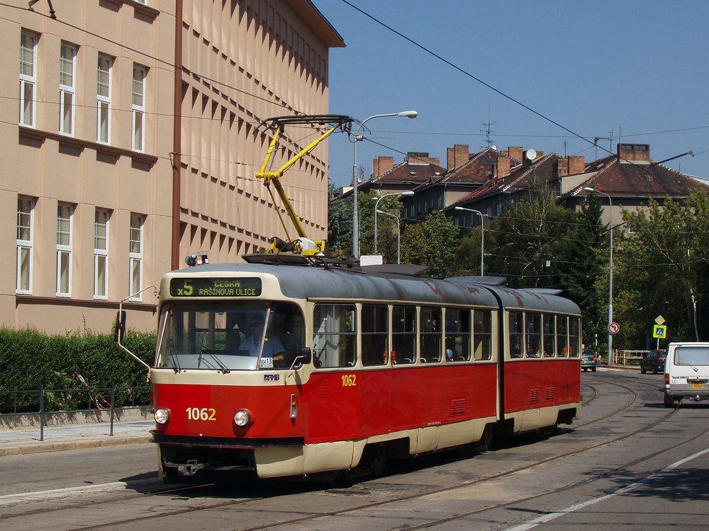 Fotogalerie » ČKD Tatra K2P 1062 | Brno | Černá Pole | Merhautova