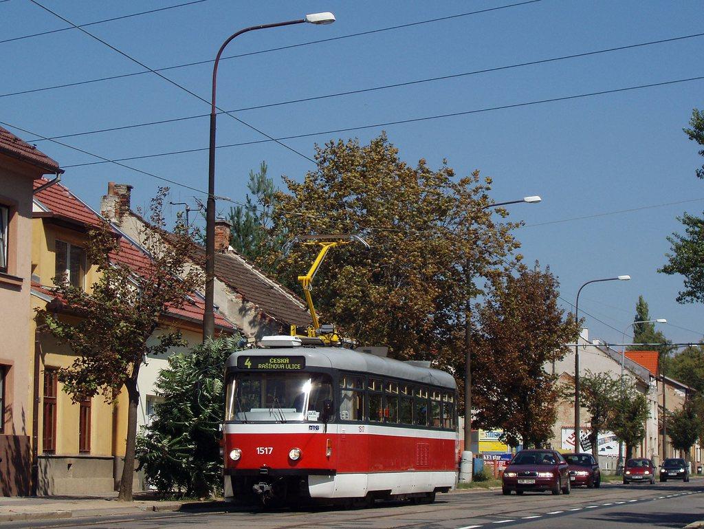 Fotogalerie » Pragoimex T3R.PV 1517 | Brno | Maloměřice | Obřanská