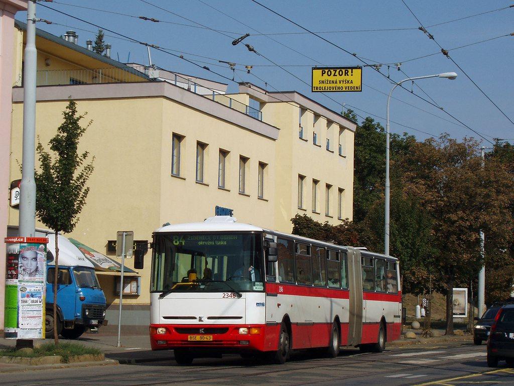 Fotogalerie » Karosa B941E.1962 2346 | Brno | Žabovřesky | Horova | Mozolky