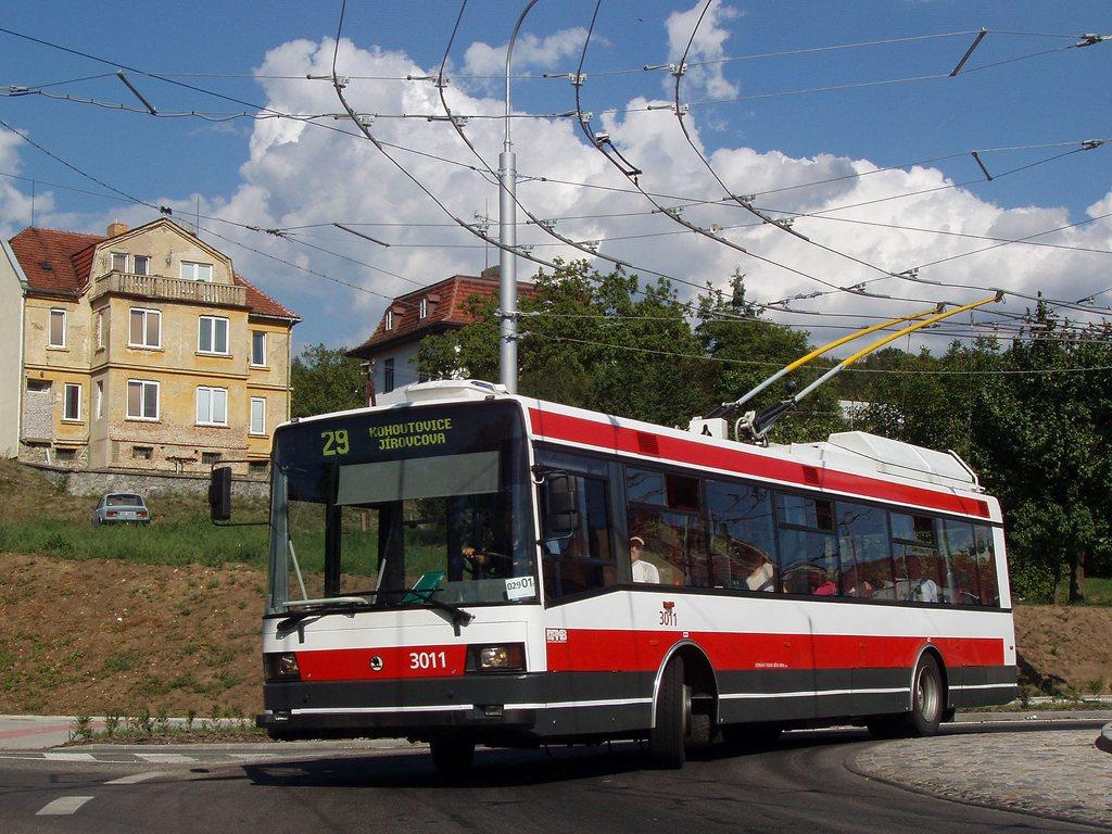 Fotogalerie » Škoda 21Tr 3011 | Brno | Komín | Hlavní