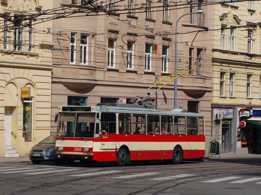 Fotogalerie » Škoda 14Tr14 3260 | Brno | Veveří | Údolní