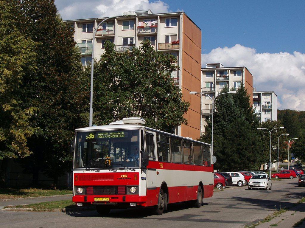 Fotogalerie » Karosa B732.1654.3 7382 | Brno | Komín | Absolonova