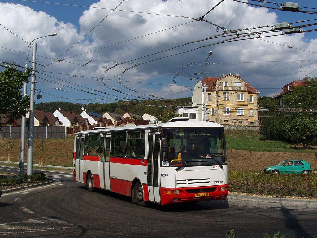 Fotogalerie » Karosa B931.1675 7444 | Brno | Komín | Hlavní