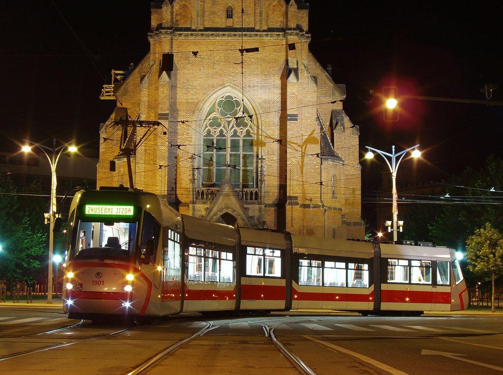 Fotogalerie » Škoda 13T0 1901 | Brno | střed | Komenského náměstí