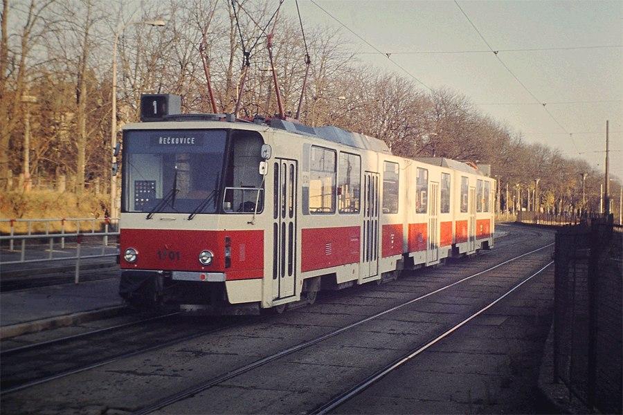 Fotogalerie » ČKD Tatra KT8D5 1701   Brno   Pisárky   Pisárky, výstupní