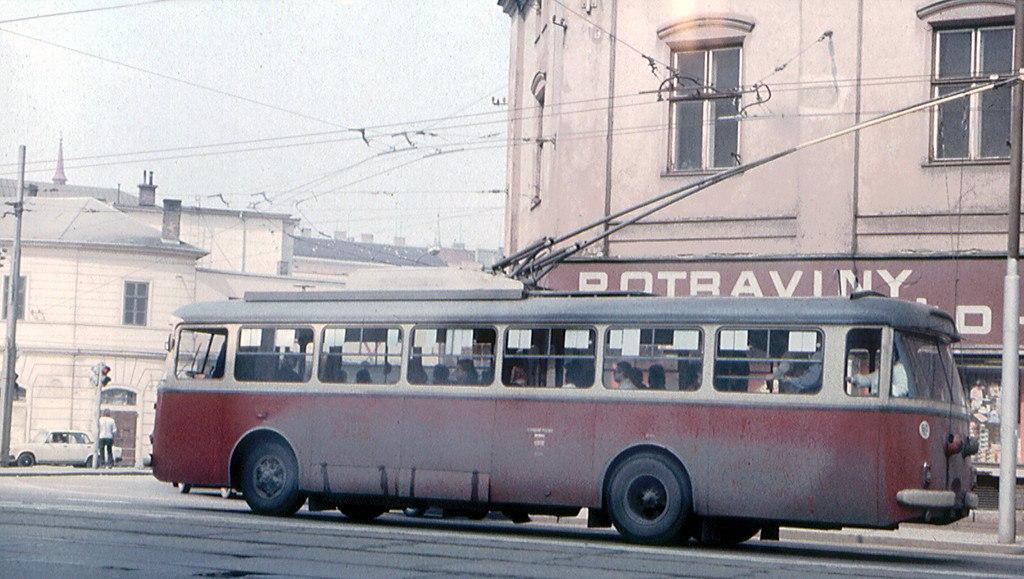 Fotogalerie » Škoda 9TrHT28 3157 | Brno | Trnitá | Křenová