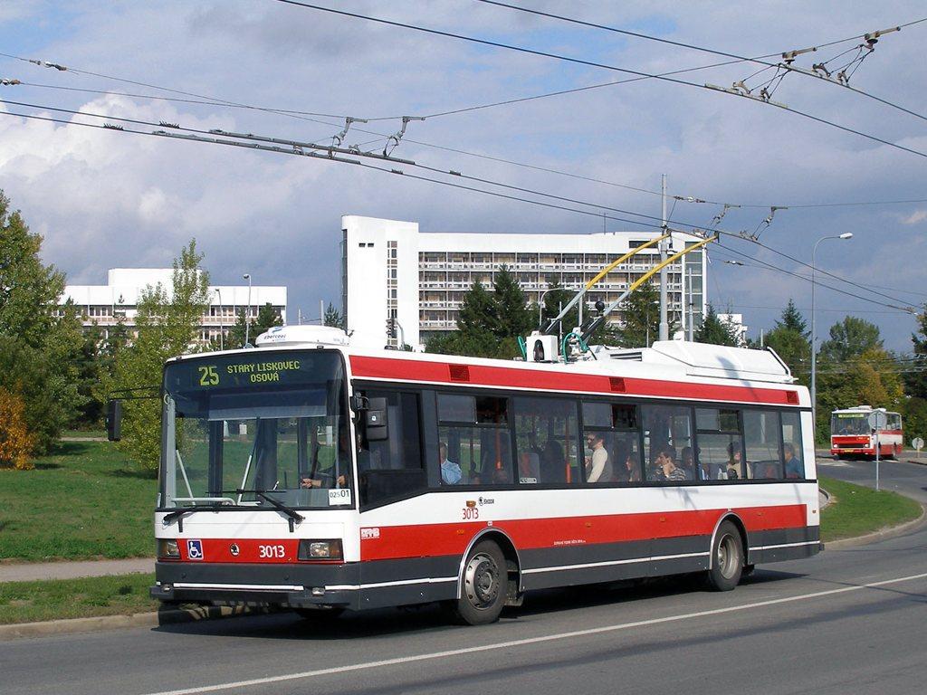 Fotogalerie » Škoda 21Tr 3013 | Brno | Bohunice | Osová