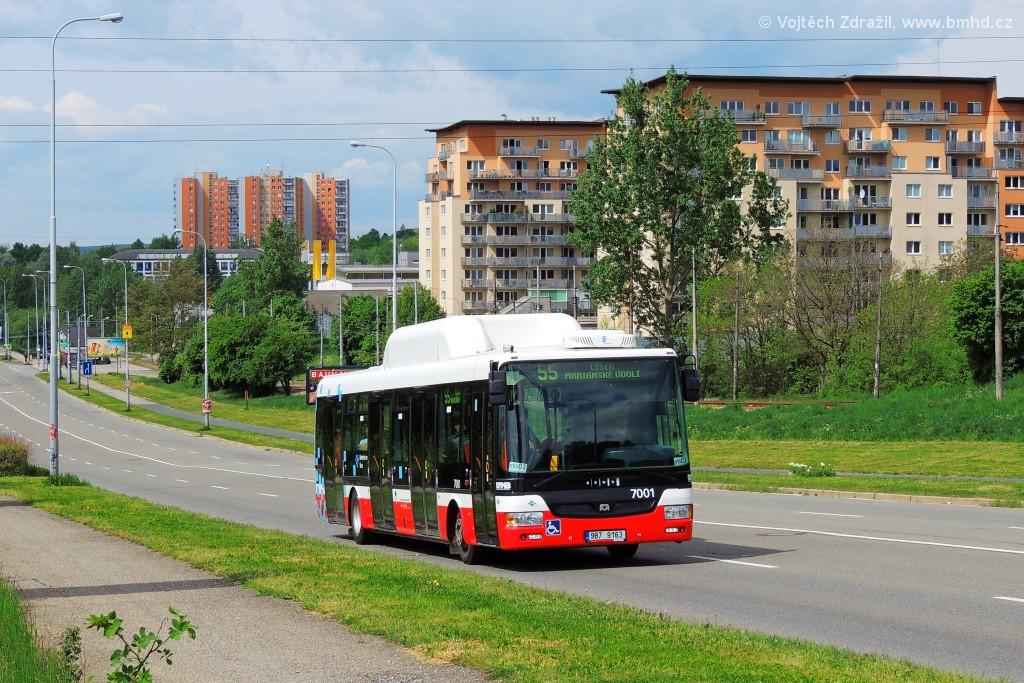 Fotogalerie » SOR NBG 12 9B7 9163  7001 | Brno | Líšeň | Novolíšeňská