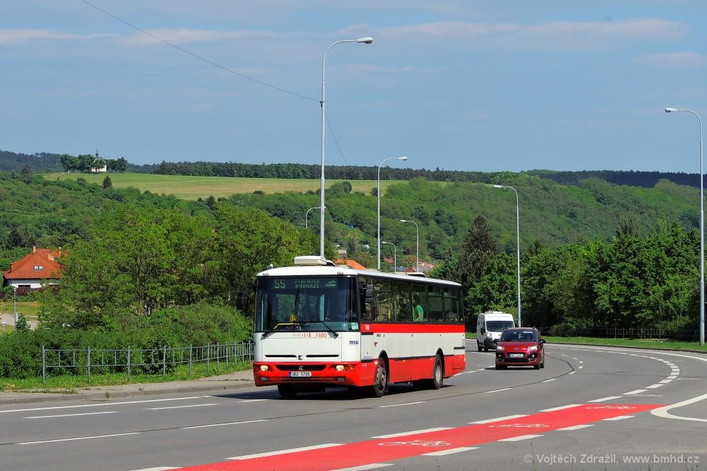 Fotogalerie » Karosa B951E.1713 3B2 5705 7480 | Brno | Líšeň | Mifkova
