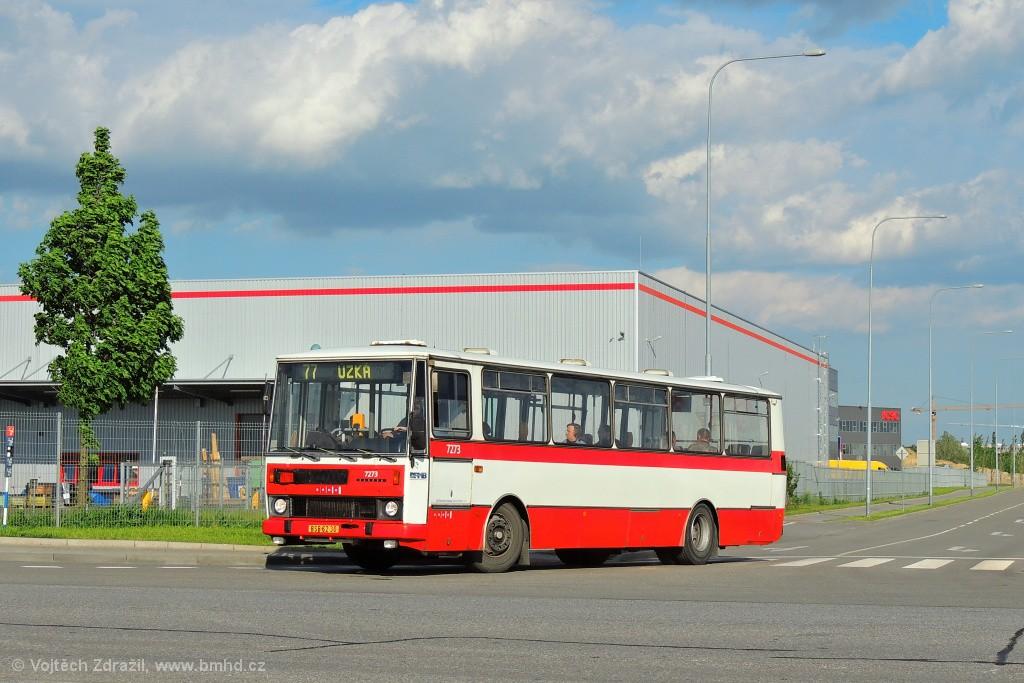 Fotogalerie » Karosa B732.40 BSB 62-30 7273 | Brno | Černovice | Těžební