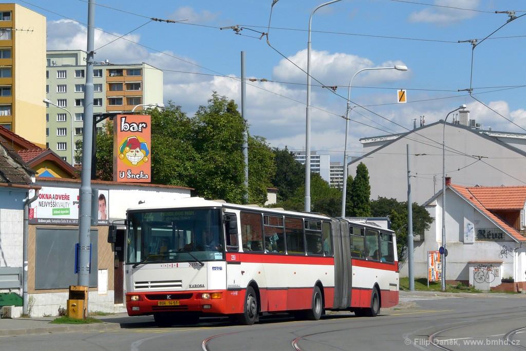 Fotogalerie » Karosa B941E.1962 BSH 14-51 2351 | Brno | Žabovřesky | Rosického náměstí | Rosického náměstí