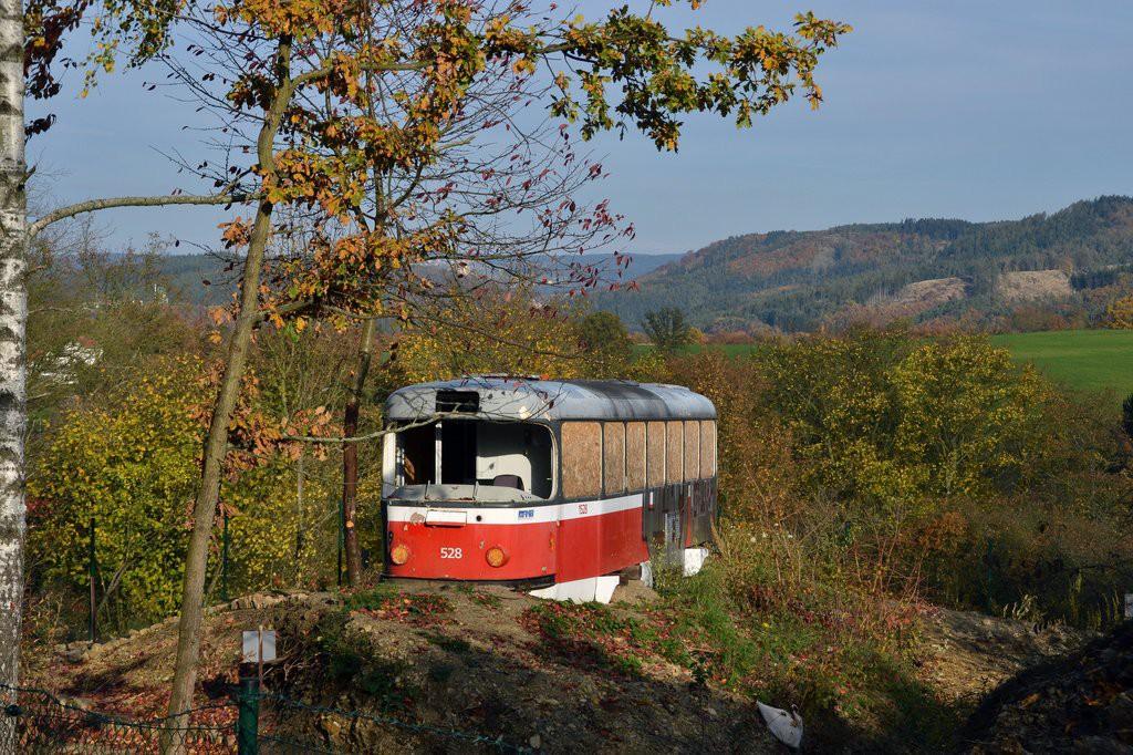 Fotogalerie » ČKD Tatra T3 1528   Obora u Boskovic