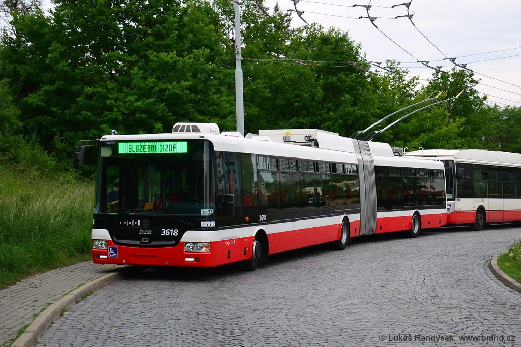 Fotogalerie » Škoda 31Tr 3618 | Brno | Kamenný Vrch | Petra Křivky