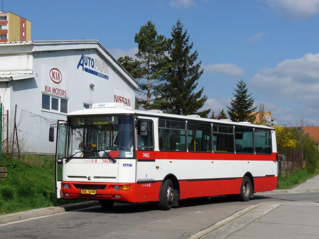 Fotogalerie » Karosa B931E.1707 BSH 14-58 7462 | Brno | Královo Pole | Budovcova | Královo Pole, nádraží