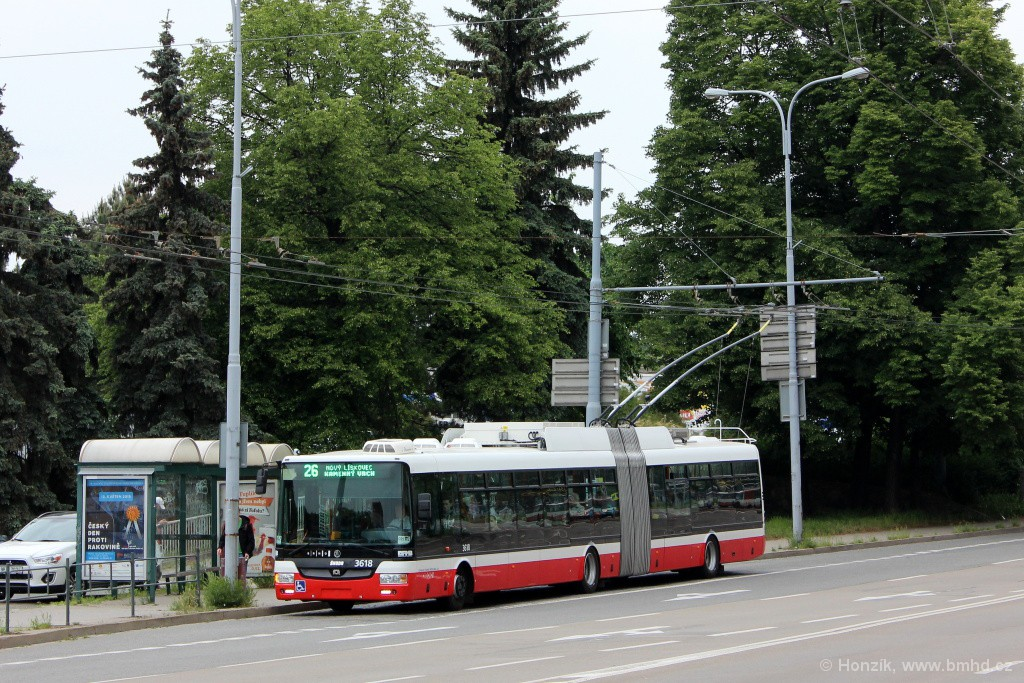 Fotogalerie » Škoda 31Tr 3618 | Brno | Ponava | Drobného | Zimní stadion