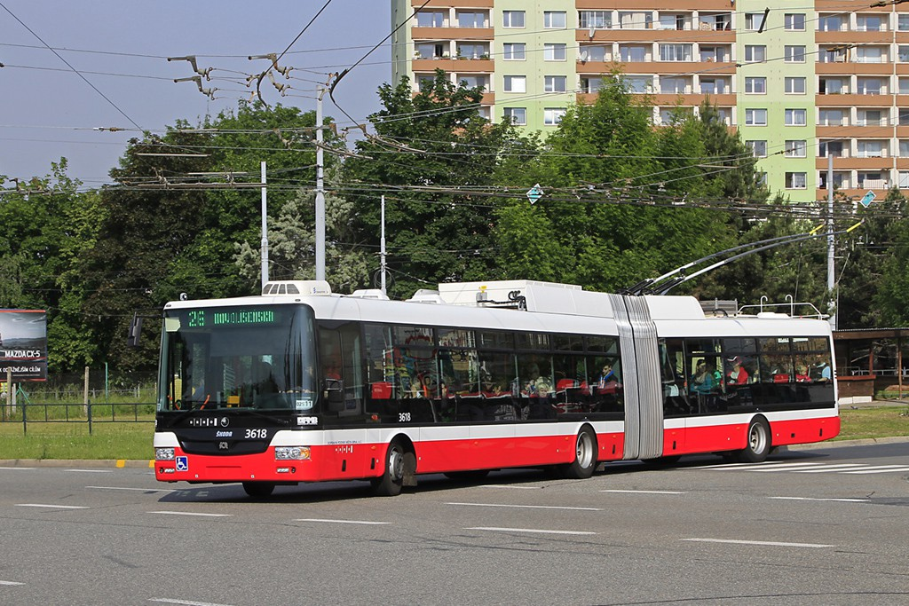 Fotogalerie » Škoda 31Tr 3618 | Brno | Židenice | Stará Osada