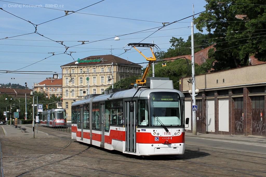 Fotogalerie » Pragoimex VarioLF2R.E 1114   Brno   střed   Nádražní   Nové sady