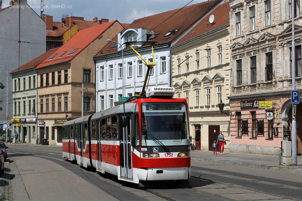 Fotogalerie » Pars Nova K3R-N 1752 | Brno | Staré Brno | Pekařská