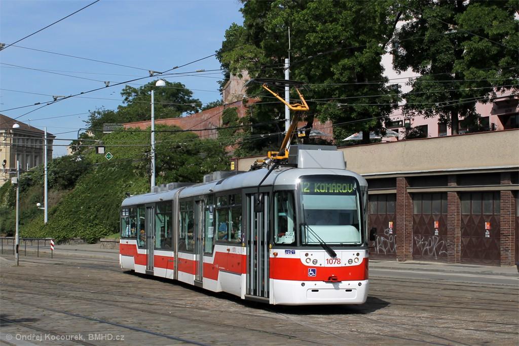 Fotogalerie » Pragoimex VarioLF2R.E 1078 | Brno | střed | Nádražní