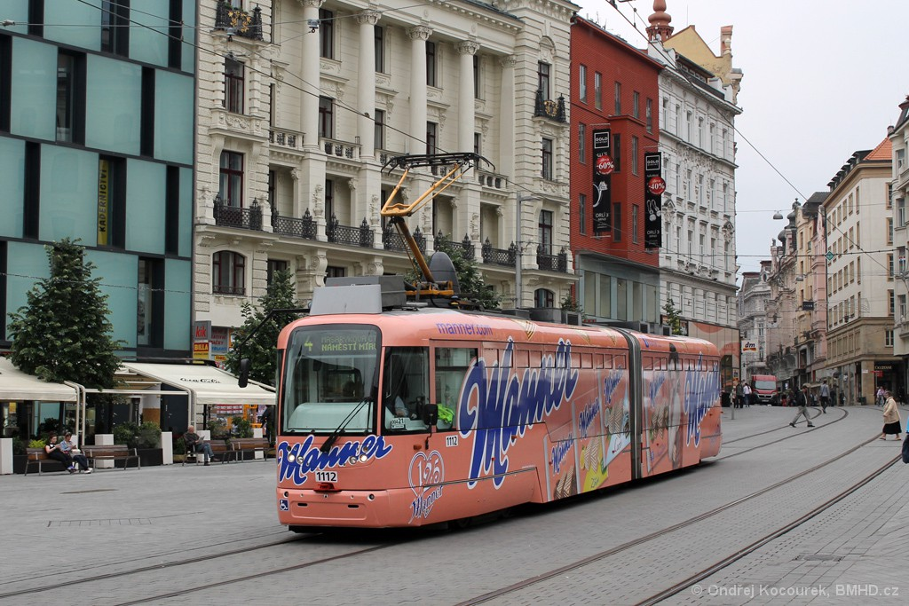 Fotogalerie » Pragoimex VarioLF2R.E 1112 | Brno | střed | náměstí Svobody