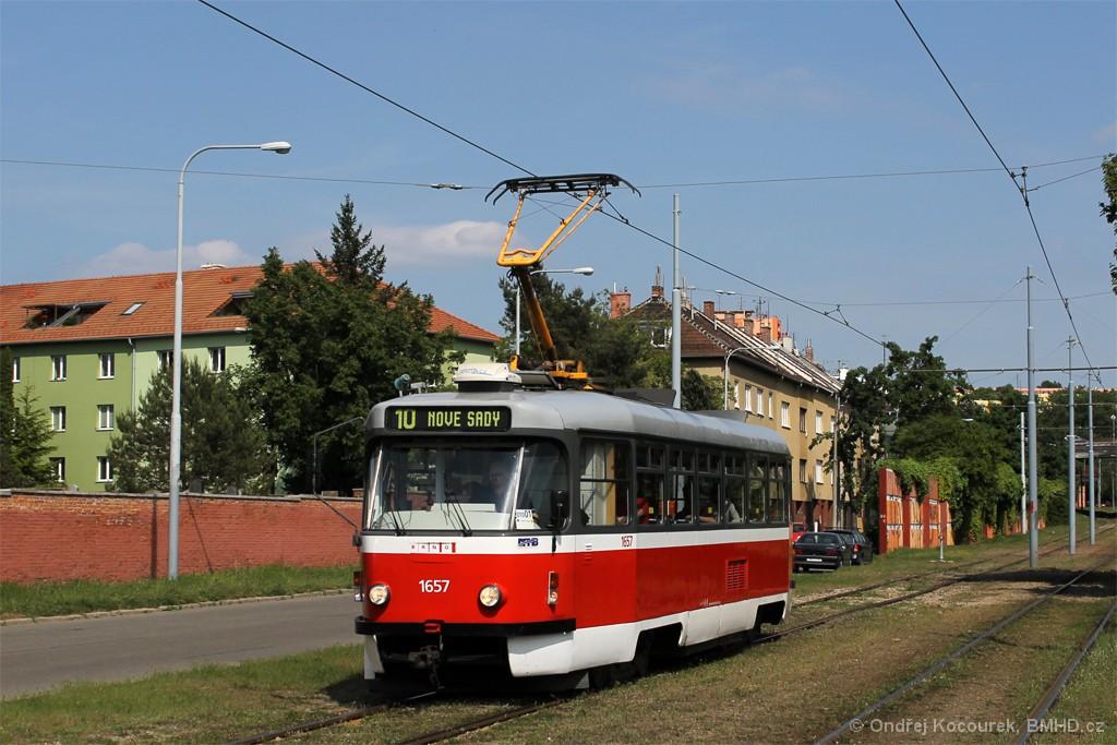 Fotogalerie » Pragoimex T3R.PV 1657 | Brno | Židenice | Nezamyslova