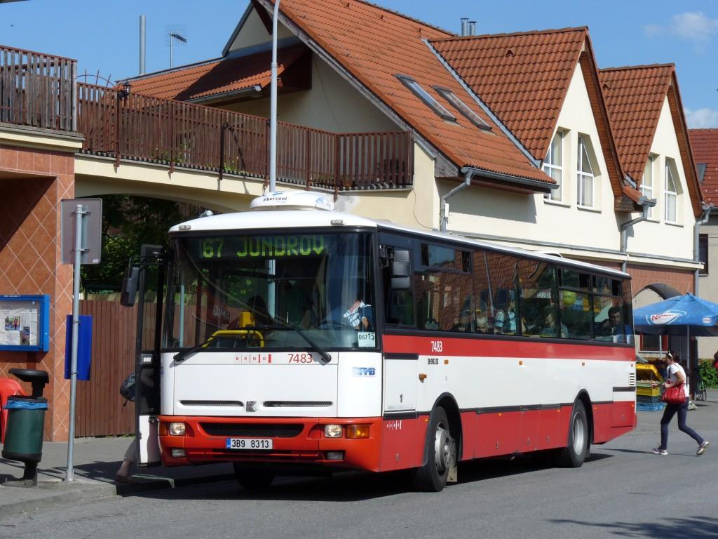 Fotogalerie » Karosa B951E.1713 3B9 8313 7483 | Brno | Jundrov | Optátova | Optátova