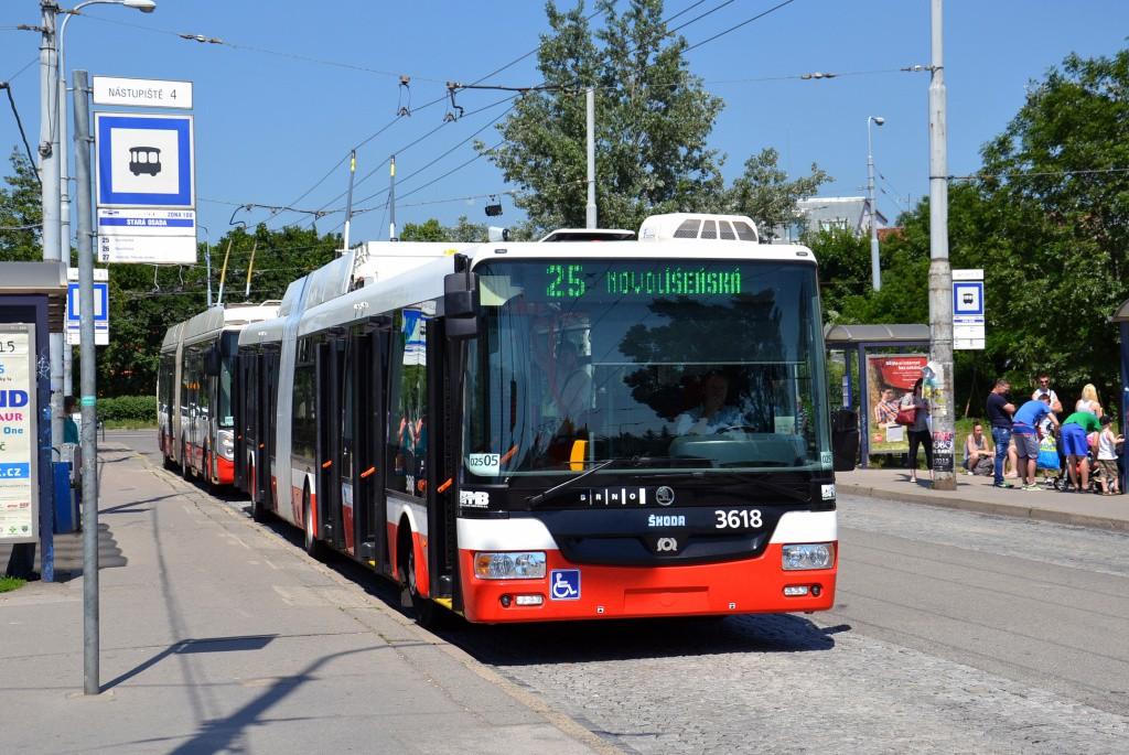 Fotogalerie » Škoda 31Tr 3618   Brno   Židenice   Stará Osada