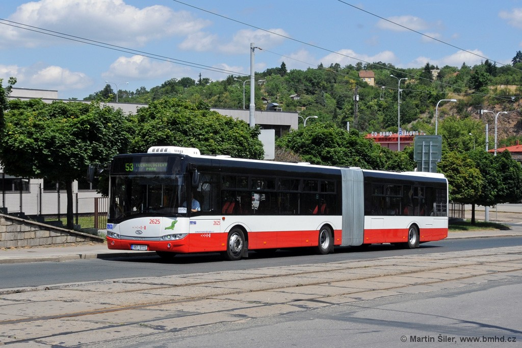 Fotogalerie » Solaris Urbino 18 III 9B7 9133 2625   Brno   Královo Pole   Kosmova