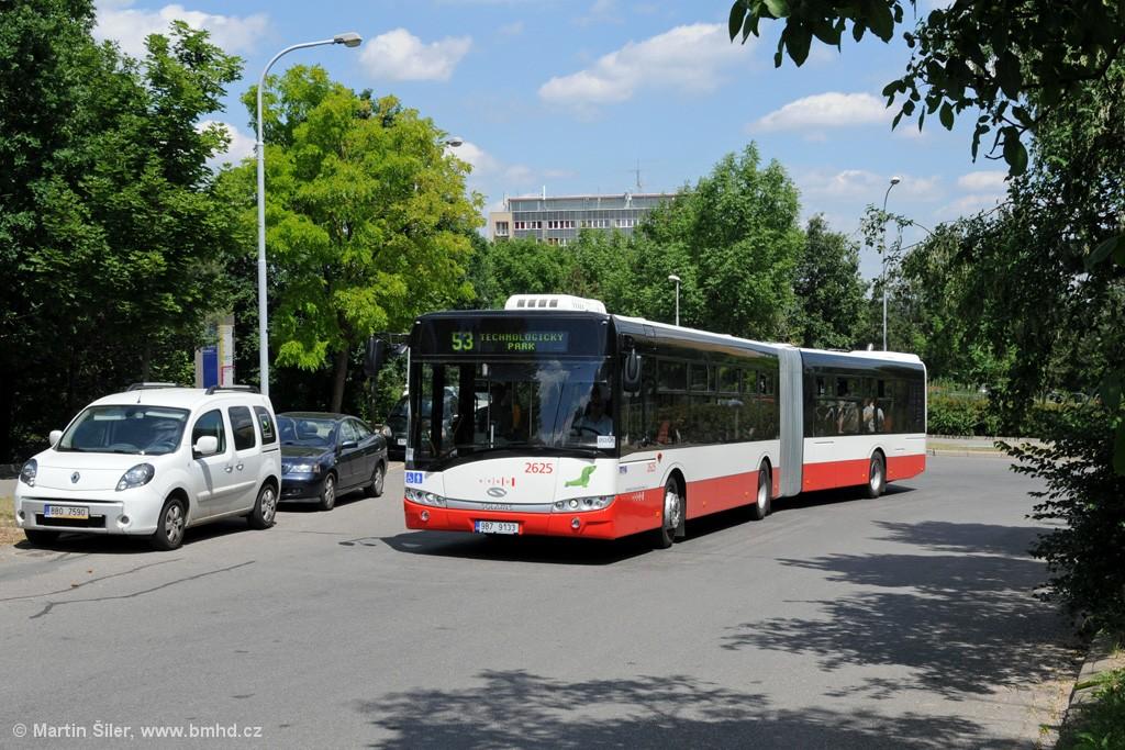 Fotogalerie » Solaris Urbino 18 III 9B7 9133 2625 | Brno | Královo Pole | Technická