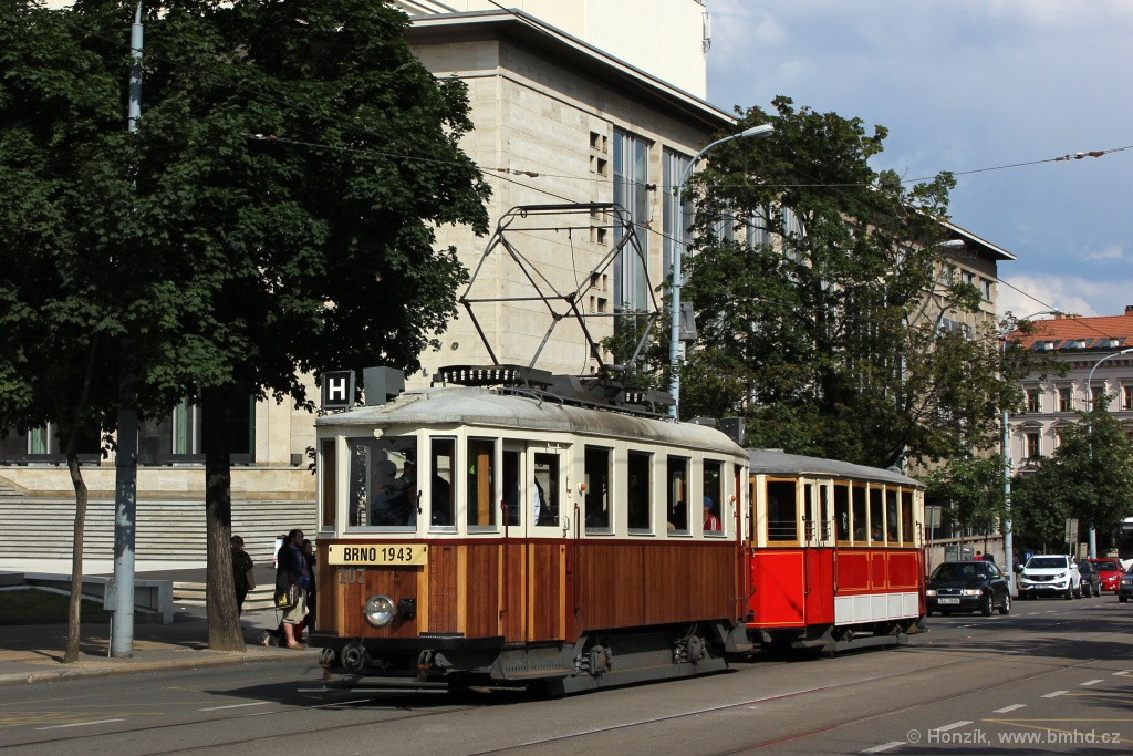Fotogalerie » KPS Brno mv6.3 107 | Ringhoffer vv2.ringh 215 | Brno | střed | Rooseveltova