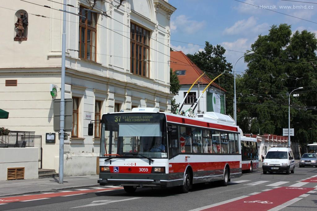 Fotogalerie » Škoda 21Tr 3059 | Brno | Staré Brno | Mendlovo náměstí