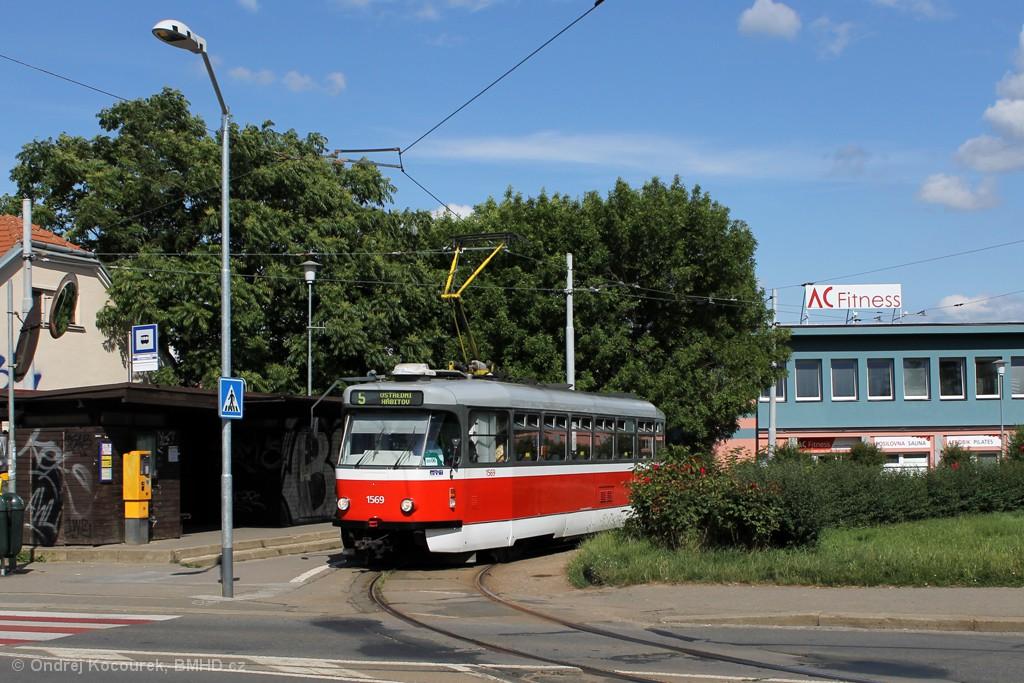 Fotogalerie » Pragoimex T3R.EV 1569 | Brno | Štefánikova Čtvrť | Merhautova | Štefánikova čtvrť
