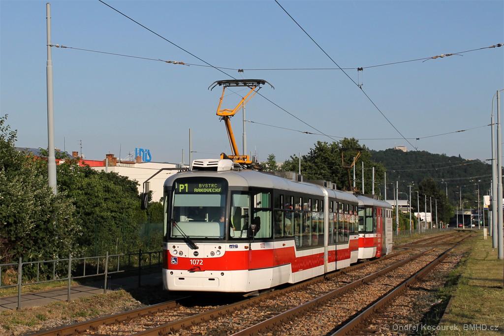 Fotogalerie » Pragoimex VarioLF2R.E 1072 | Pragoimex VarioLFR.E 1574 | Brno | Komín | Kníničská