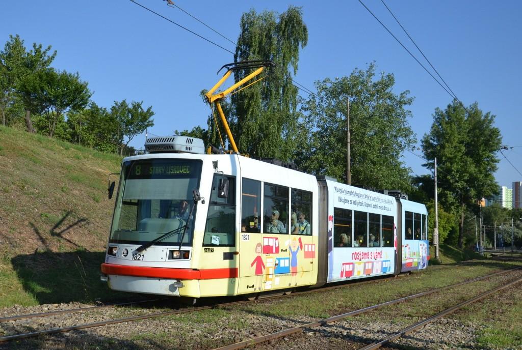 Fotogalerie » Škoda 03T7 1821 | Brno | Líšeň | Jedovnická