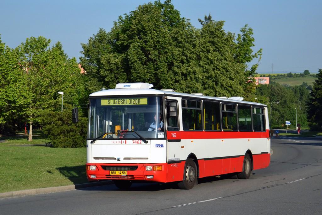 Fotogalerie » Karosa B931E.1707 BSH 14-58 7462 | Brno | Starý Lískovec | Osová