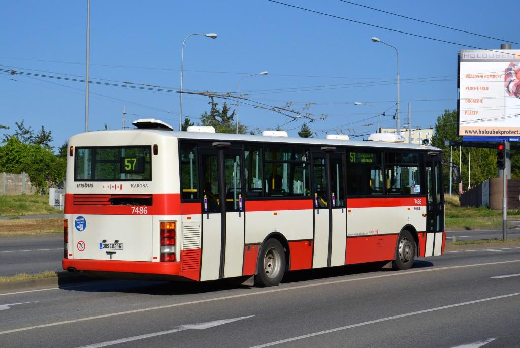 Fotogalerie » Karosa B951E.1713 3B9 8316 7486 | Brno | Husovice | Provazníkova