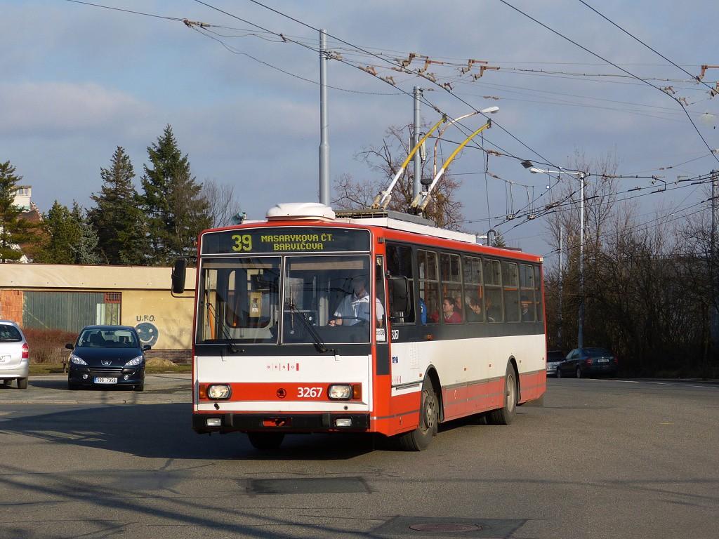 Fotogalerie » Škoda 14TrR 3267 | Brno | Masarykova Čtvrť | Vaňkovo náměstí | Vaňkovo náměstí