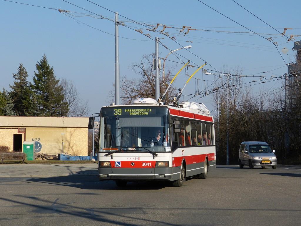 Fotogalerie » Škoda 21TrIGCT 3041 | Brno | Masarykova Čtvrť | Vaňkovo náměstí | Vaňkovo náměstí