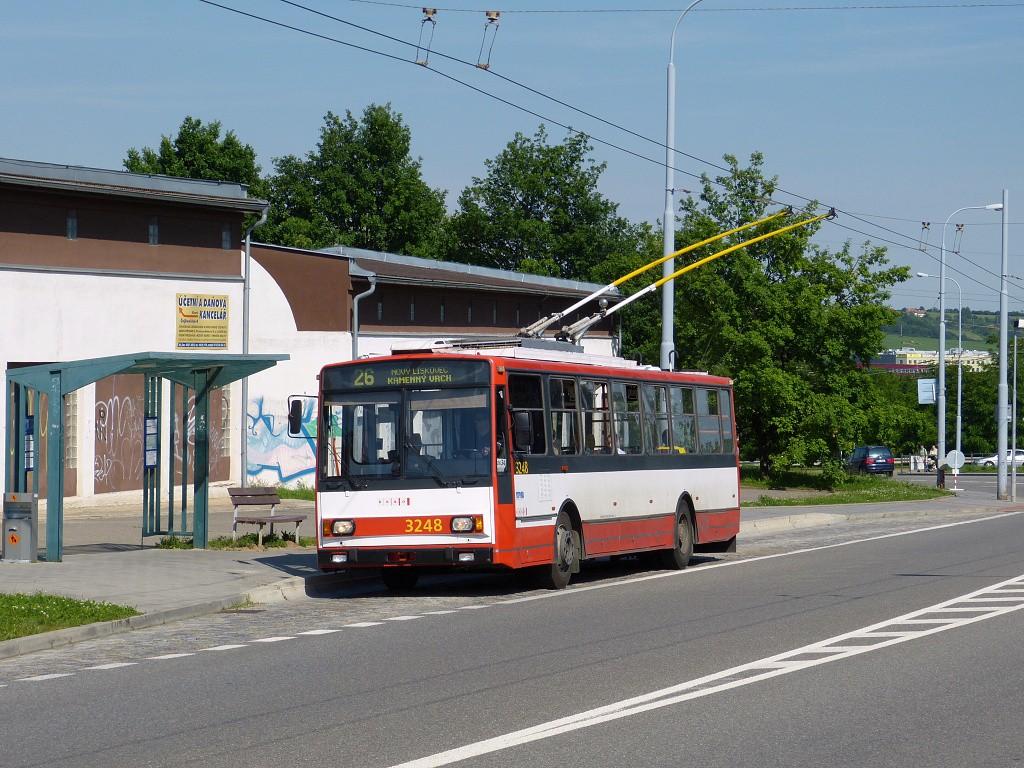 Fotogalerie » Škoda 14TrR 3248 | Brno | Vinohrady | Věstonická | Čejkovická